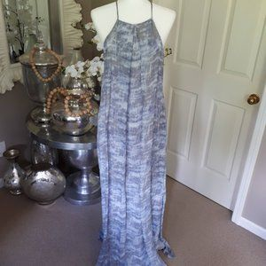 NWT Derek Lam 10 Crosby blue maxi dress Size 6
